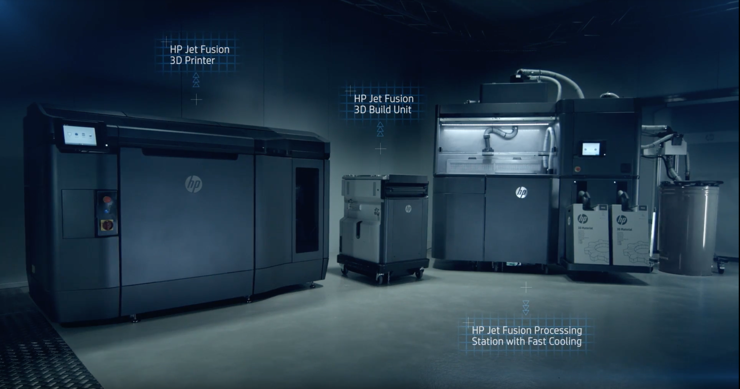 HP 3D Jet Fusion Printing System