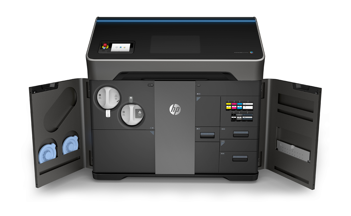HP's New Jet Fusion 300/500 Series Color 3D Printers